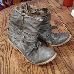 American Rag grey/brown boots